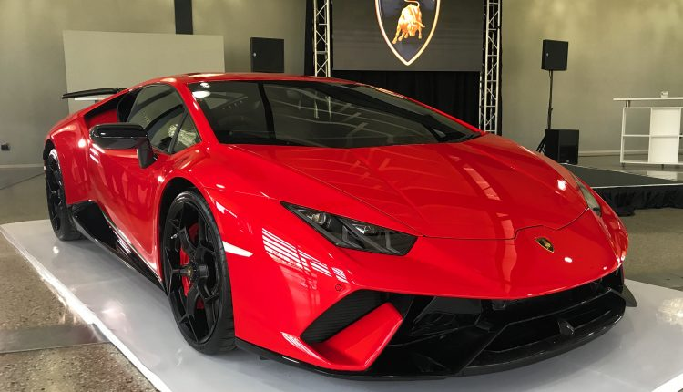 Lamborghini Huracan Performante Shows It S Angry Face In South Africa