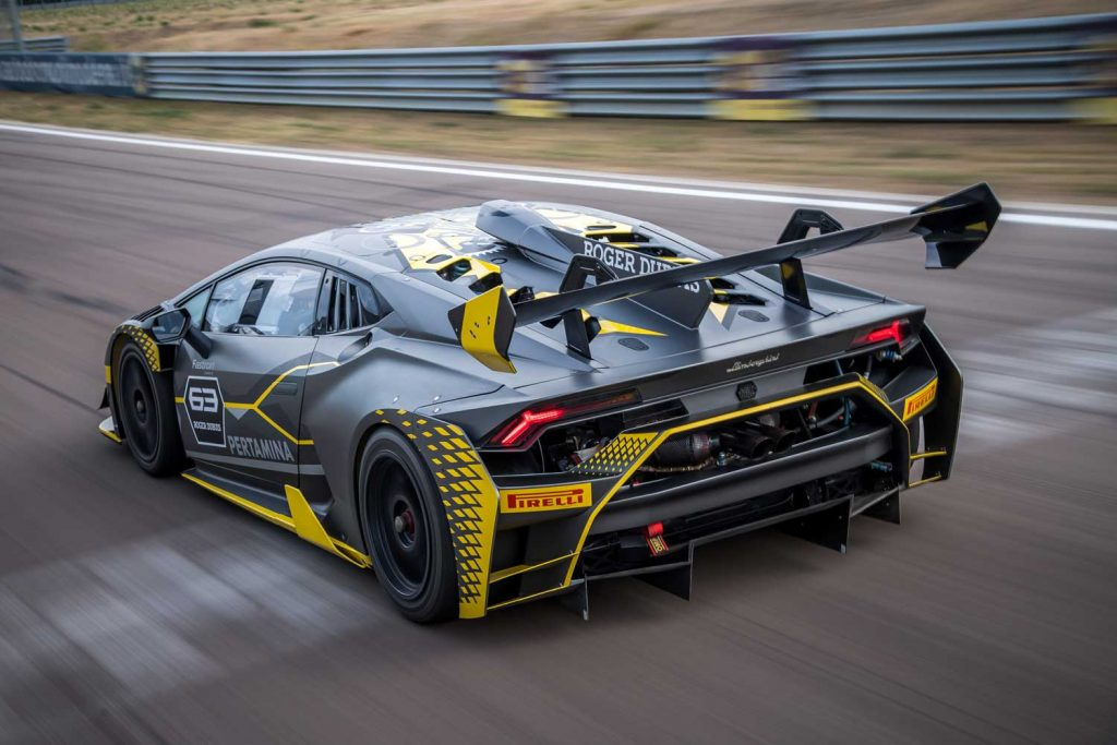 The New Lamborghini Hurac 225 N Super Trofeo Evo Is Official
