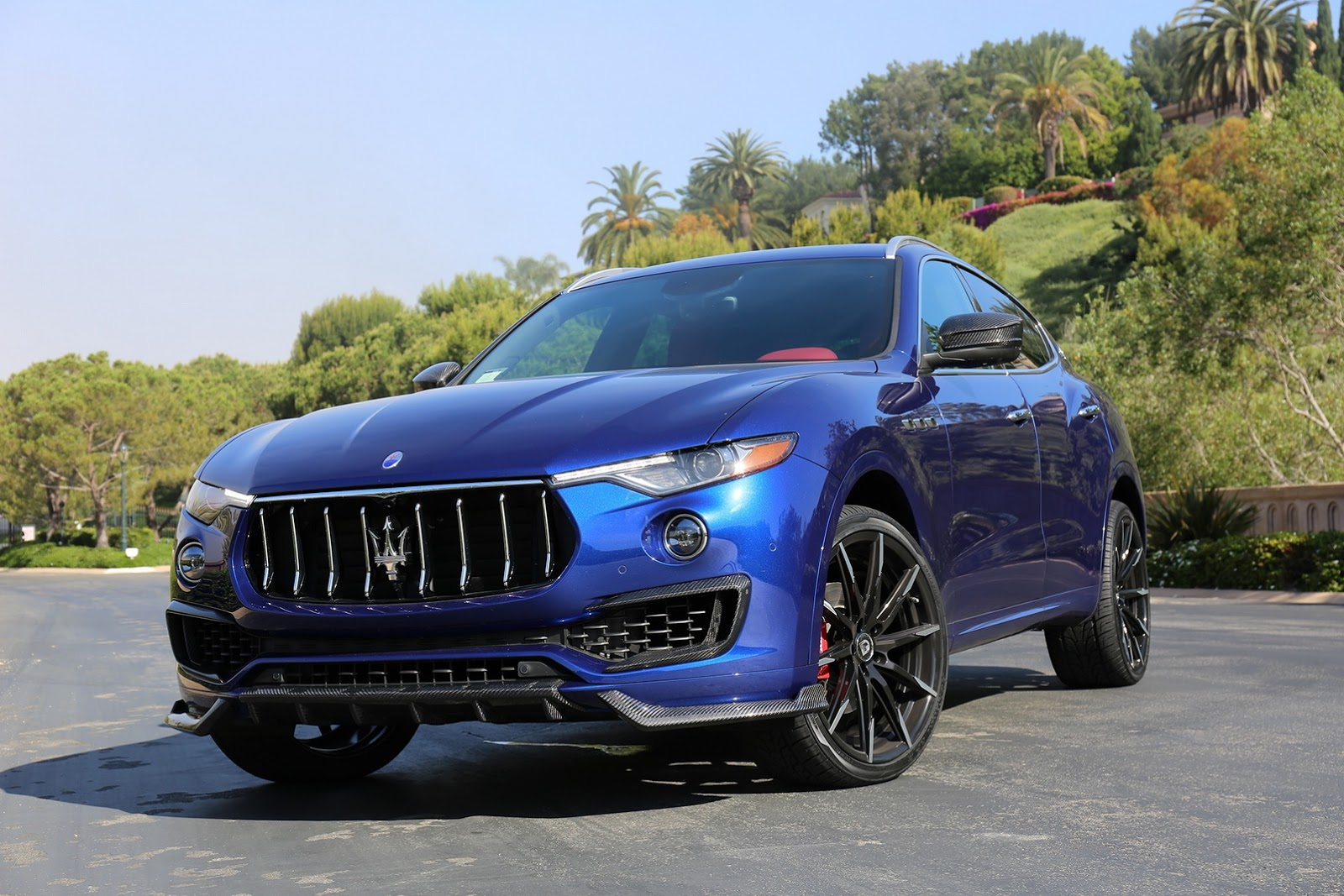 Mercedes Glc Coupe Tuning >> Larte Design Gives Maserati Levante Carbon Upgrades and More Presence