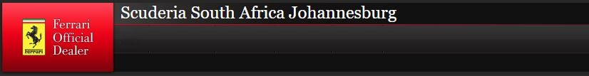 Sponsored by Scuderia South Africa Johannesburg