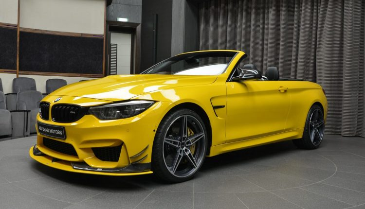 South Sound BMW >> Anyone For An AC Schnitzer Speed Yellow BMW M4 Convertible?