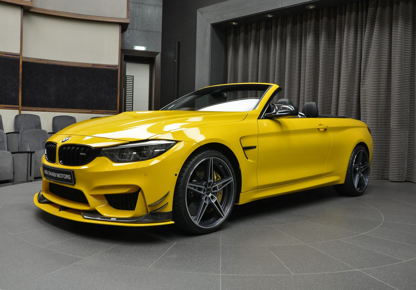 anyone for an ac schnitzer speed yellow bmw m4 convertible. Black Bedroom Furniture Sets. Home Design Ideas