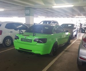 lime green bmw m3 convertible south africa