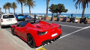 ferrari 488 spider cape town south africa