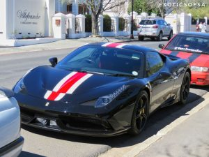 black ferrari 458 speciale south africa