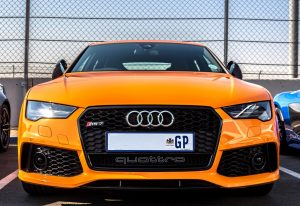 orange audi rs7 south africa