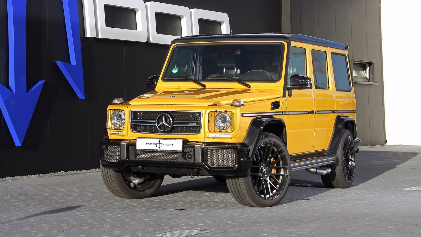 posaidon packed 850 horses into a mercedes amg g63. Black Bedroom Furniture Sets. Home Design Ideas