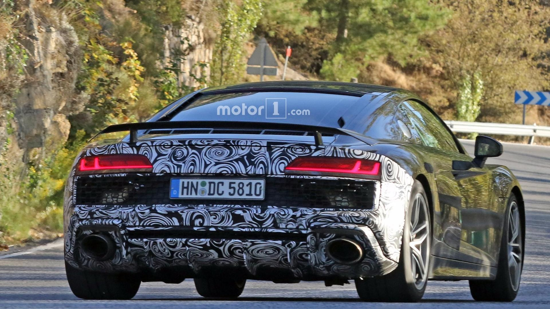 Looks Like Audi Are Testing A New R GT - 2018 audi r8 gt