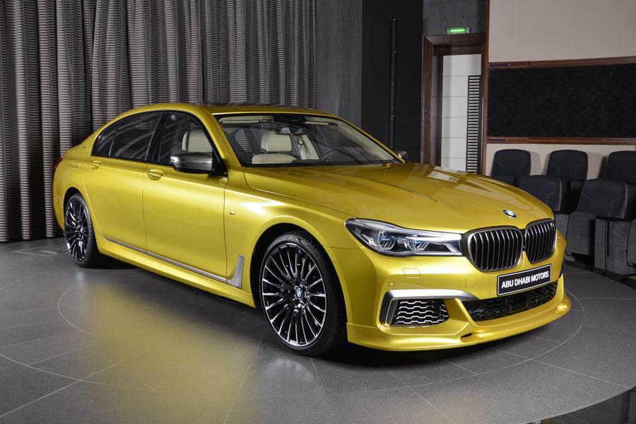 Austin Yellow BMW M760Li Looks Like A Big M4
