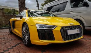 vegas yellow audi r8 v10 plus south africa