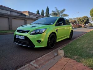 green ford focus rs mk2 south africa