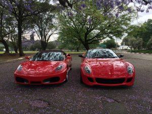 ferrari 599 and 430 spider south africa