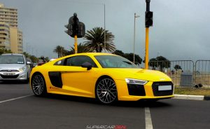 vegas yellow audi r8 v10 plus south africa