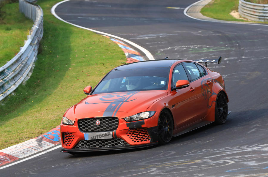 Jaguar Xe Sv Project 8 Aiming To Grab Four Foor