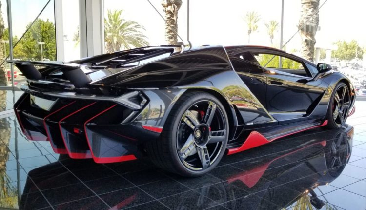 This Lamborghini Centenario Is Already For Sale For R46 Million