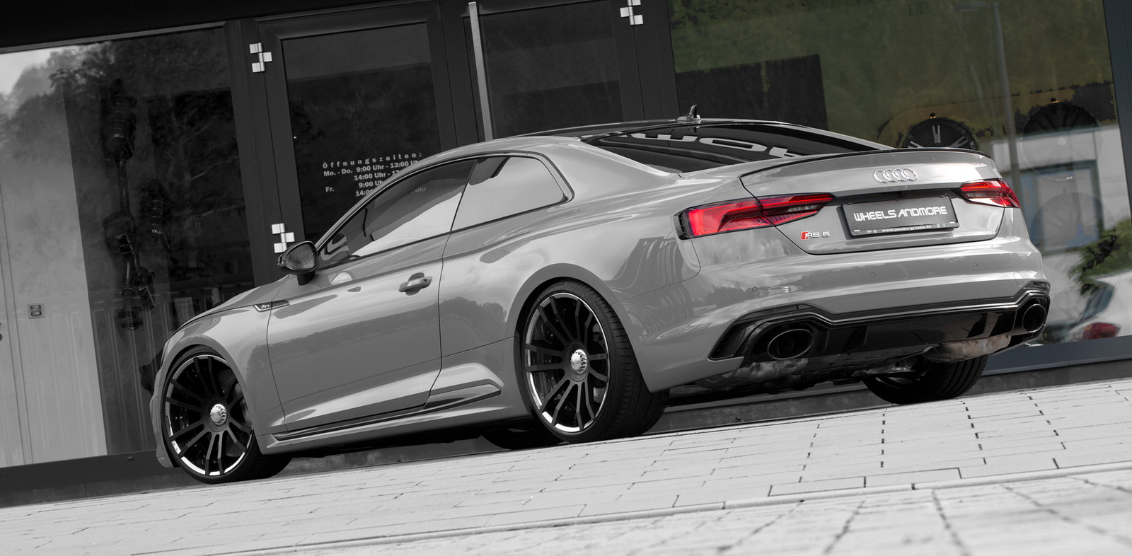 wheelsandmore pump up the audi rs5 to 513 horses. Black Bedroom Furniture Sets. Home Design Ideas
