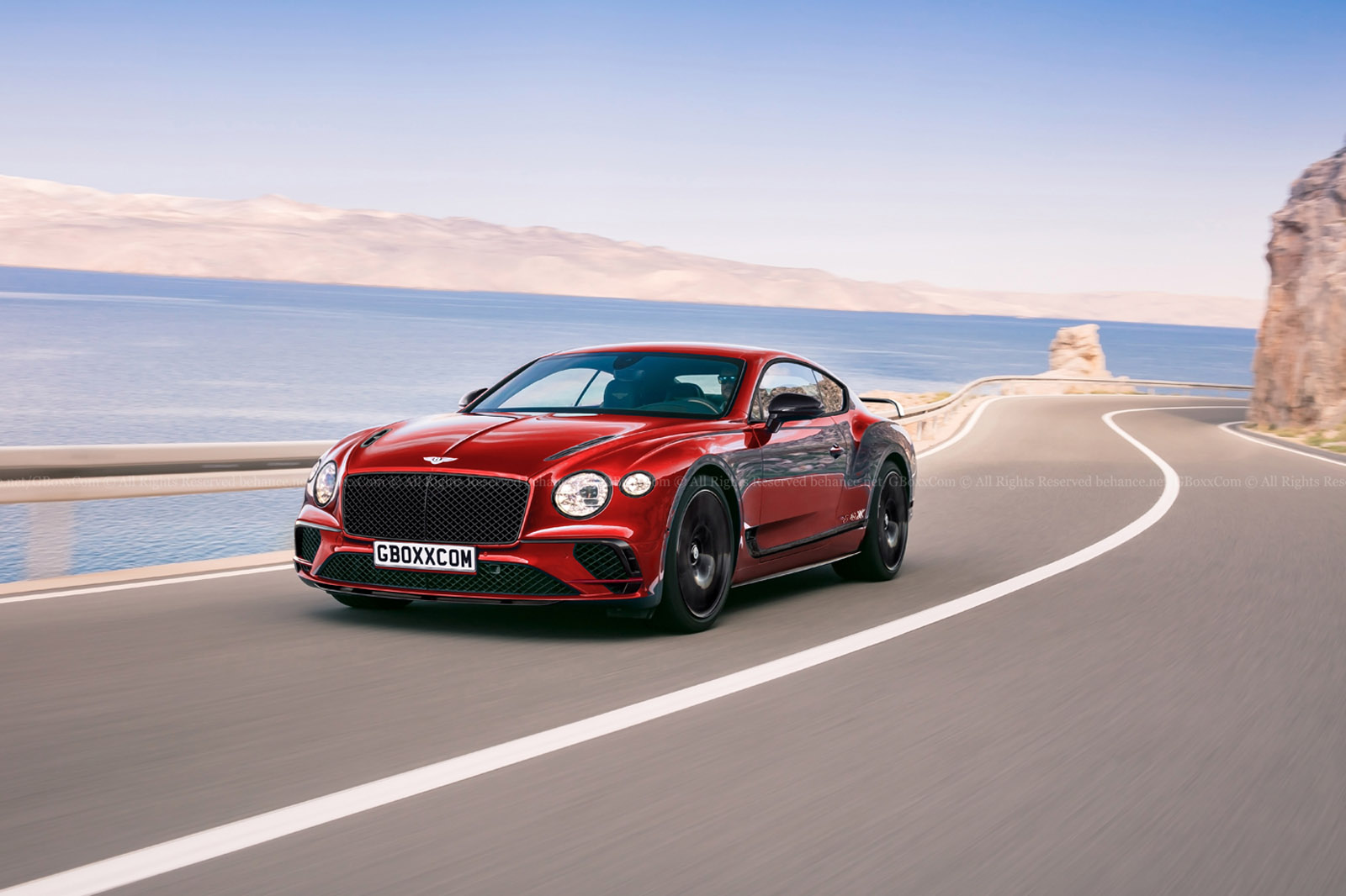 New Bentley Continental Supersports Rendered Only A