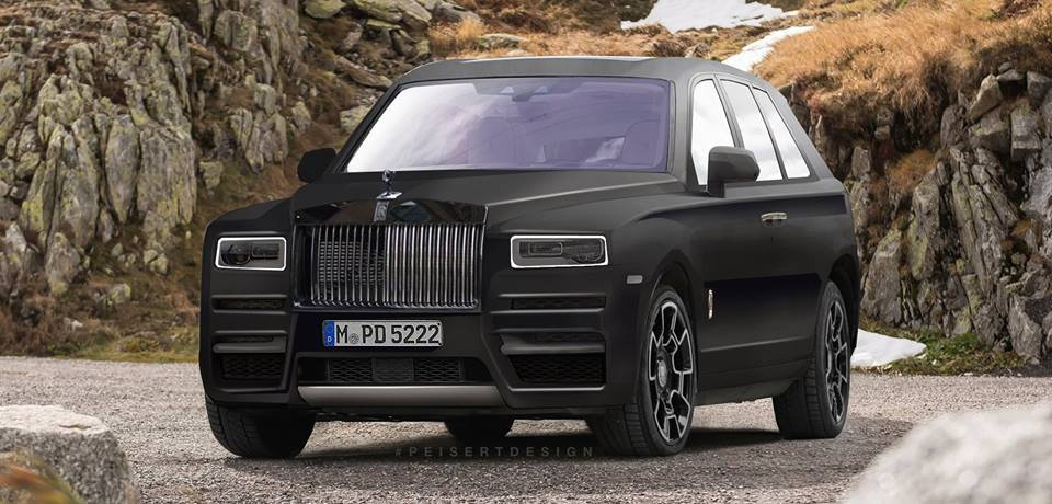 2019 Rolls Royce Cullinan Rendered From Latest Spyshots