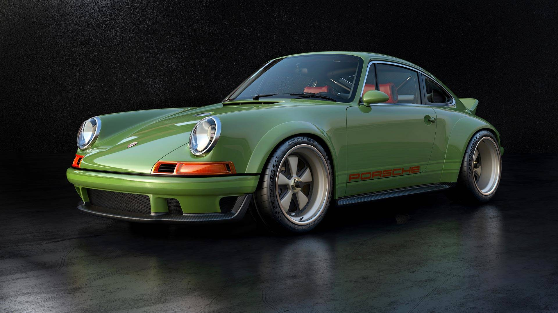 sensationally sexy singer porsche 911 with 500 hp williams engine. Black Bedroom Furniture Sets. Home Design Ideas