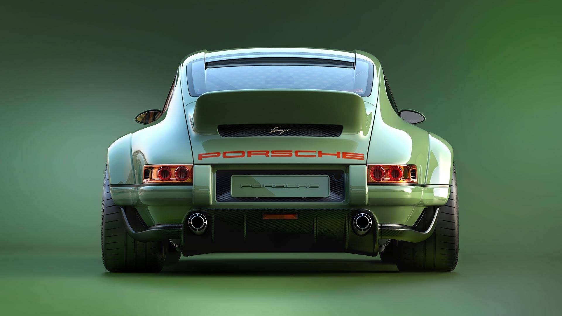 Sensationally Sexy Singer Porsche 911 With 500 HP Williams ...