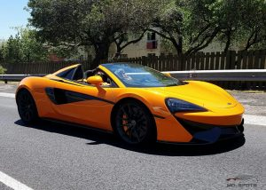 orange mclaren 570s spider south africa