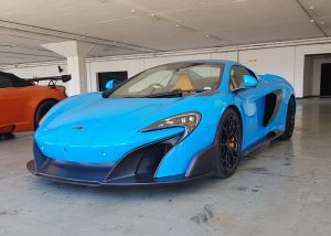 blue mclaren 675lt spider south africa