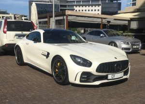 white mercedes amg gtr south africa