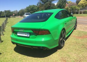viper green audi rs7 south africa