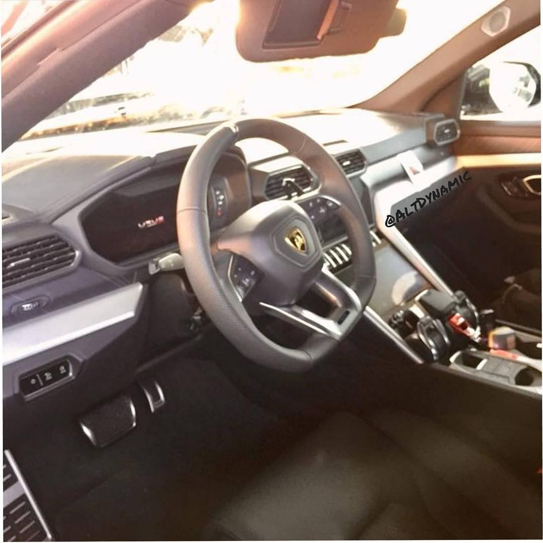 First Peek Inside The Lamborghini Urus
