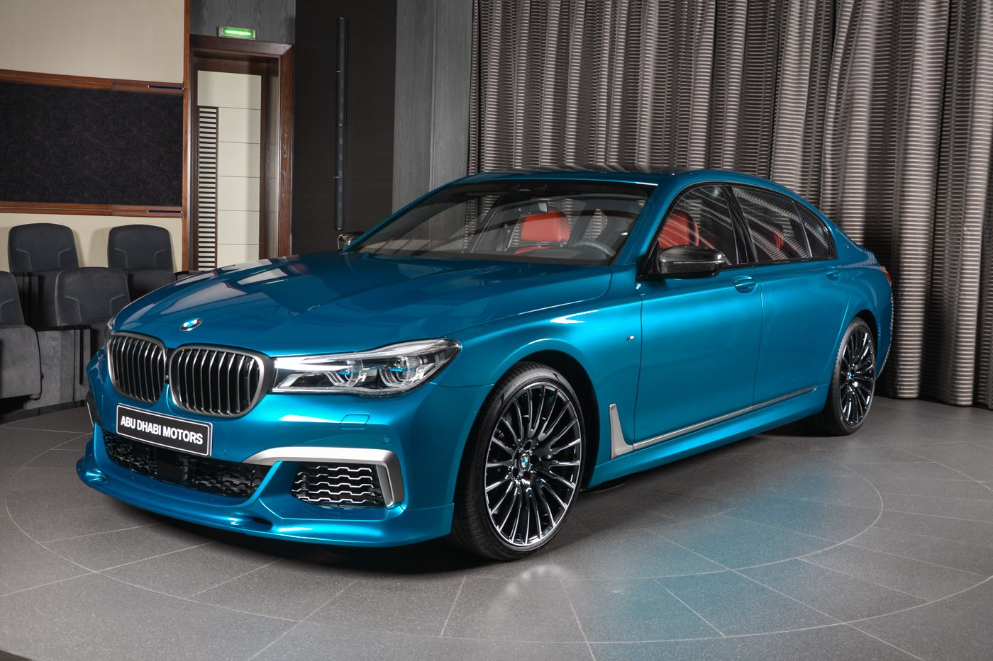 3d Design Equipped Long Beach Blue Bmw M760li Is Brilliant