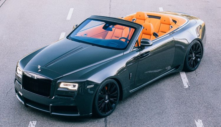 Spofec Rolls Royce Dawn Overdose By Novitec Is Dramatic