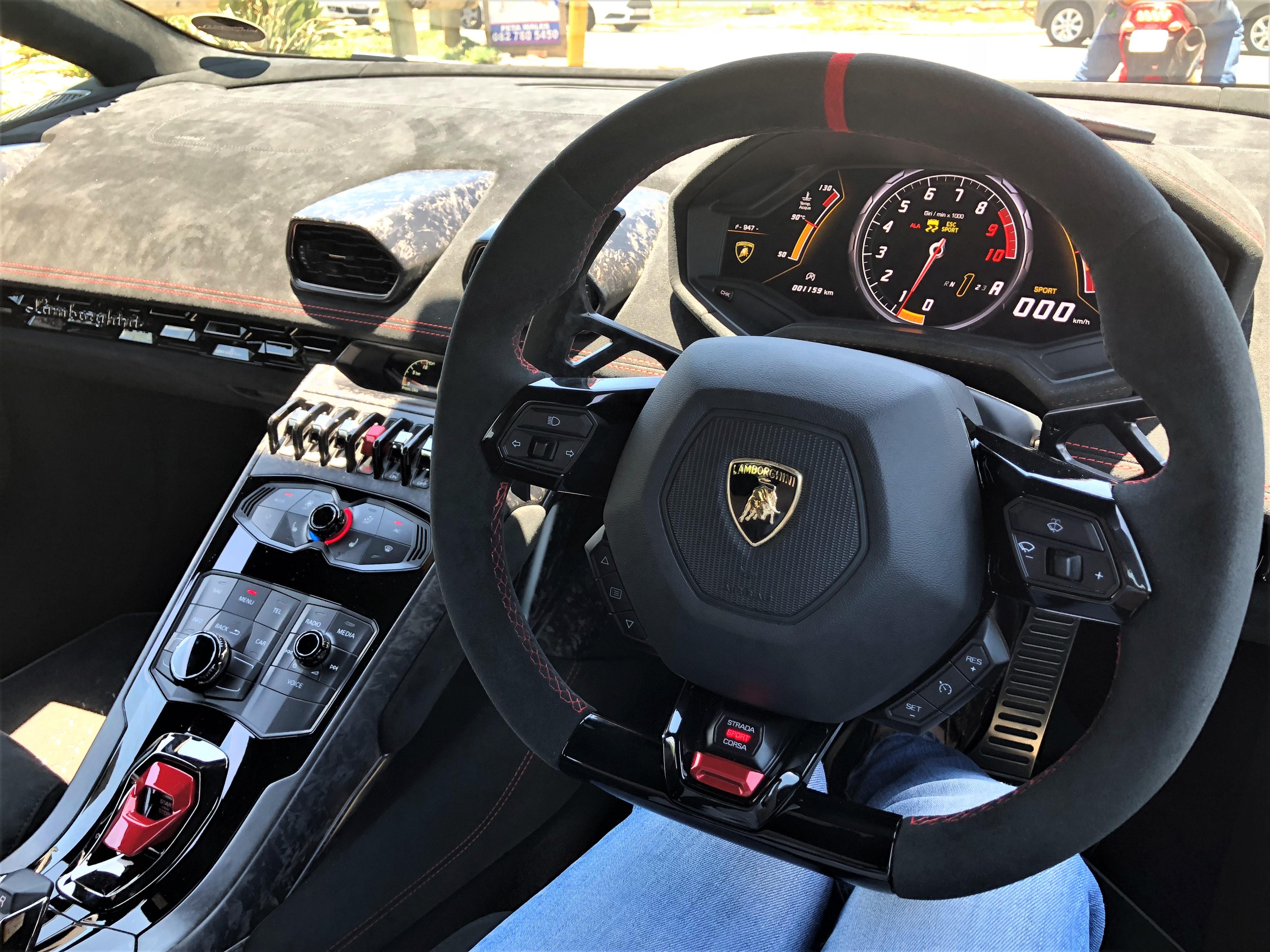 Driven Lamborghini Huracan Performante