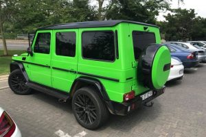 green mercedes benz g63 amg south africa