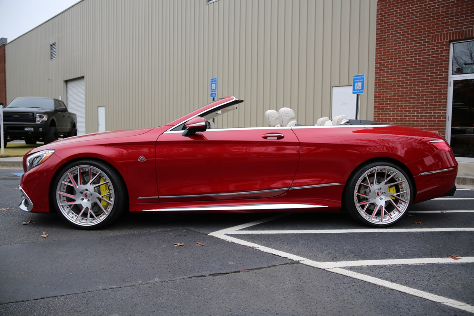 Mercedes Maybach S 650 Cabriolet Sports Forgiato S