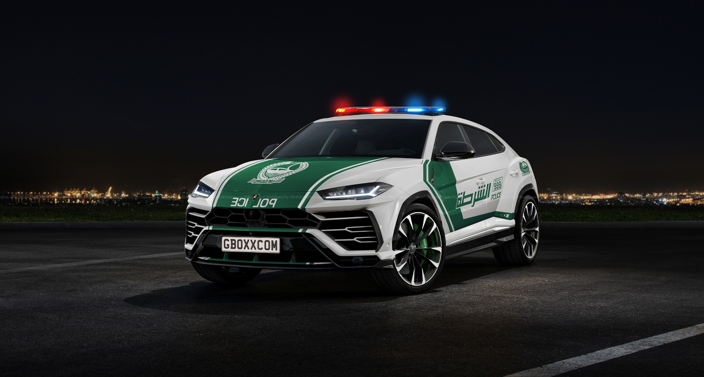 The Lamborghini Urus Would Be Perfect For The Dubai Police