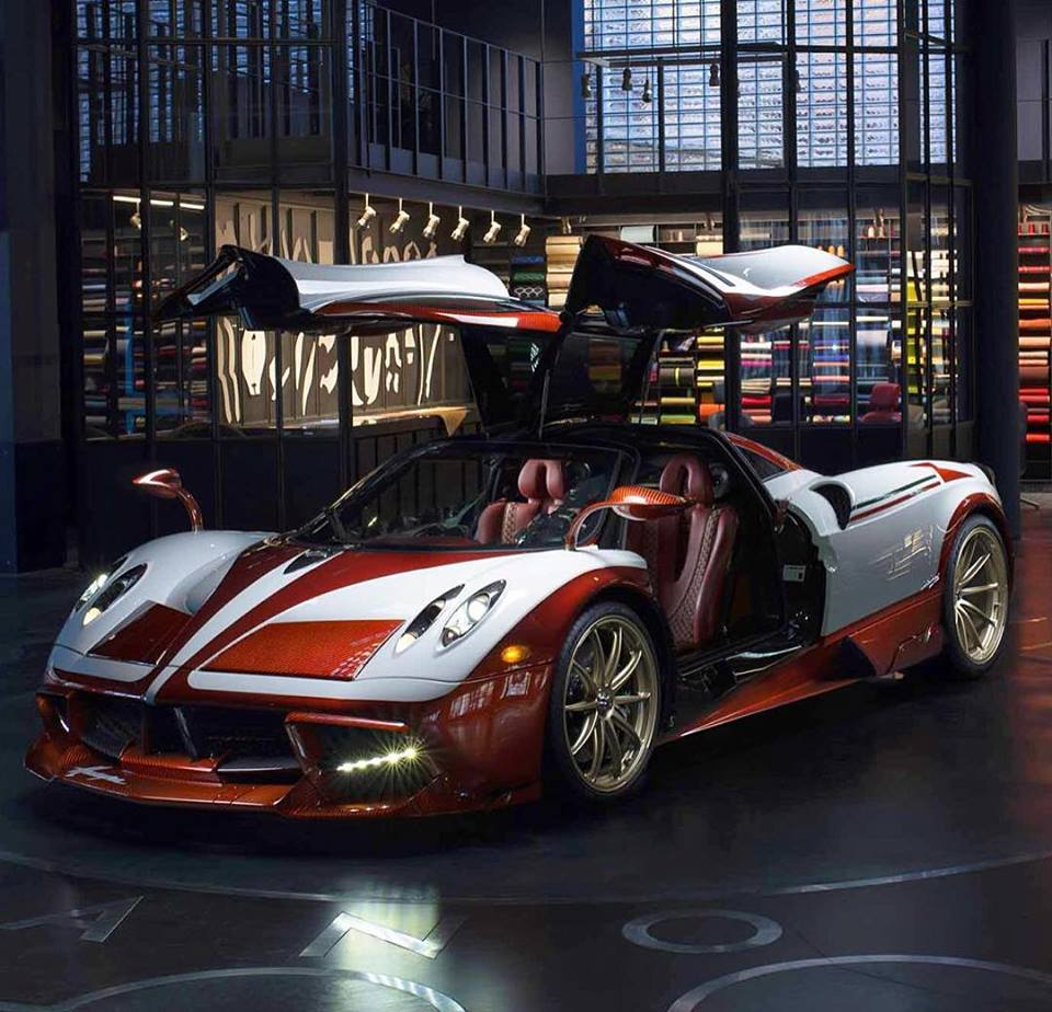 Pagani Huayra Bc For Sale Production 20 Cars: Pagani Huayra Lampo Is A One Off With Fiat Turbina Finish