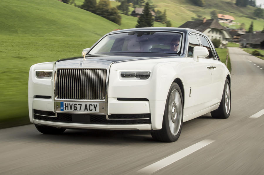 Rolls Royce Phantom To Go Fully Electric