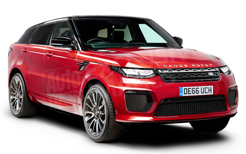limited range rover sv coupe coming to geneva. Black Bedroom Furniture Sets. Home Design Ideas