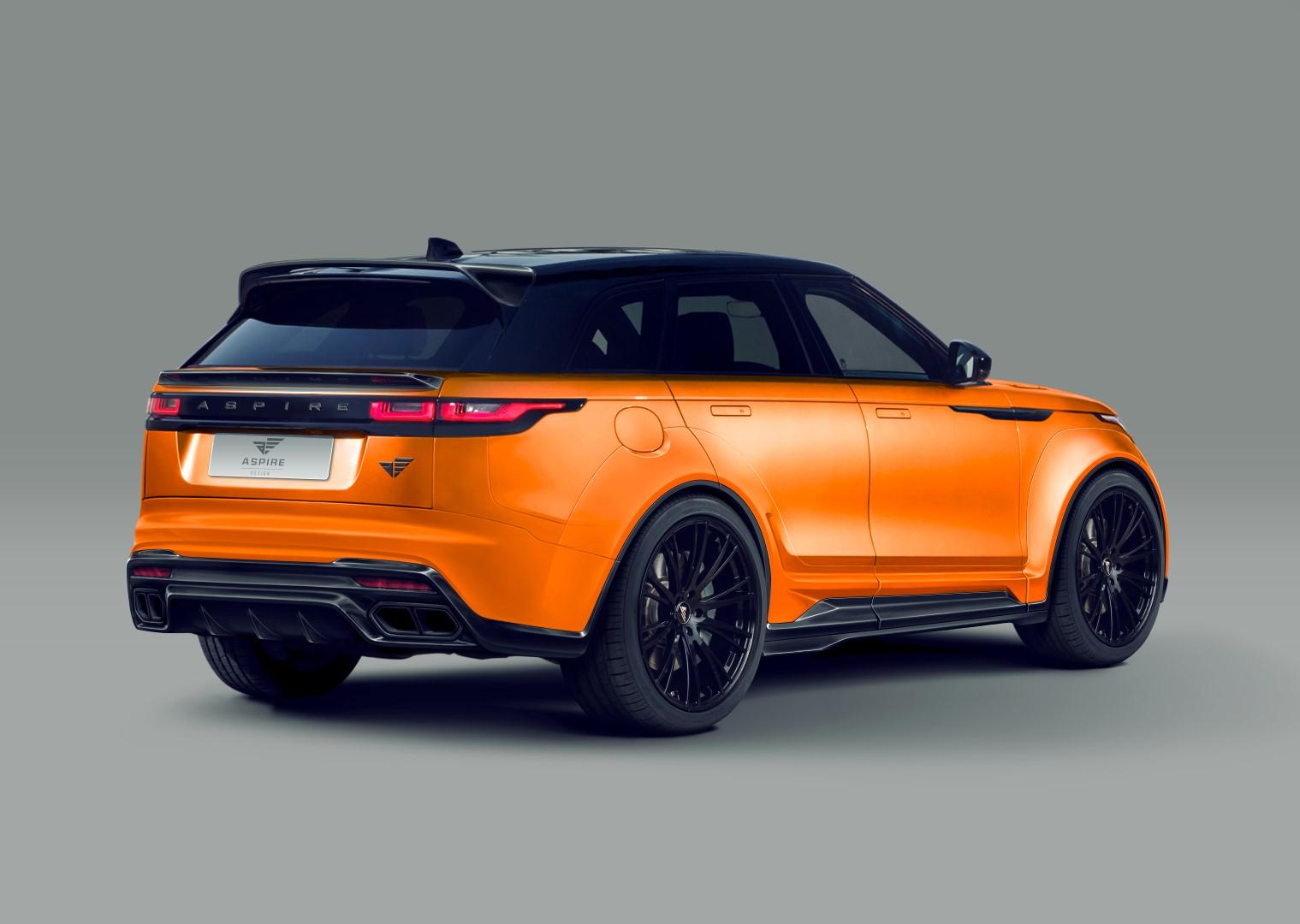 Wide Body Range Rover Velar Thanks To Aspire Design