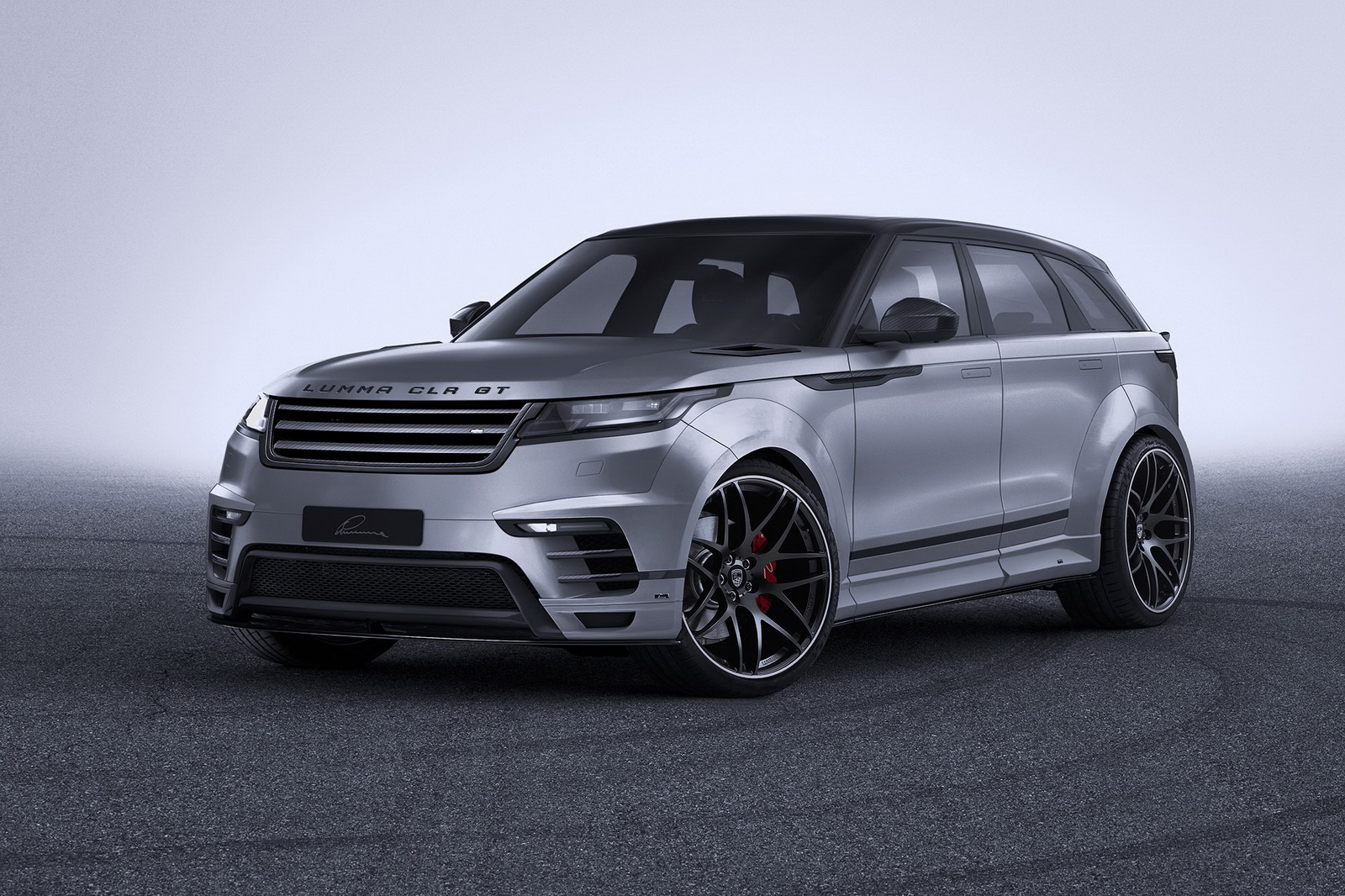 widebody range rover velar  lumma design  wicked