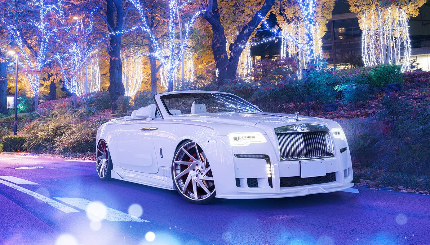 Slammed Rolls Royce Dawn Makes Quite The Statement