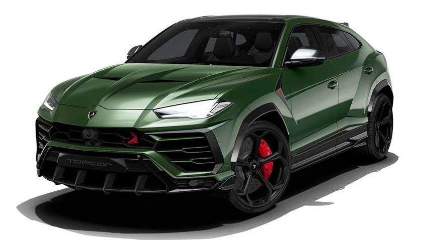 Topcar Share Styling Package For Lamborghini Urus