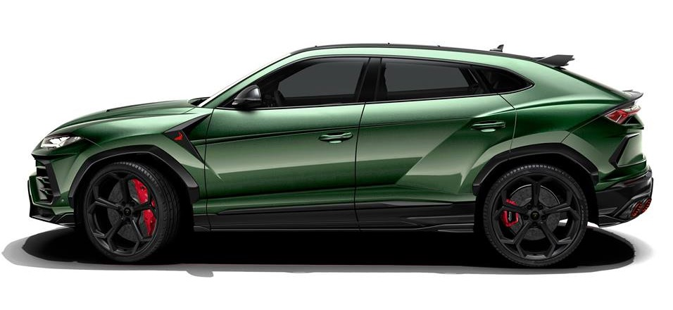 Topcar Share Styling Package For Lamborghini Urus