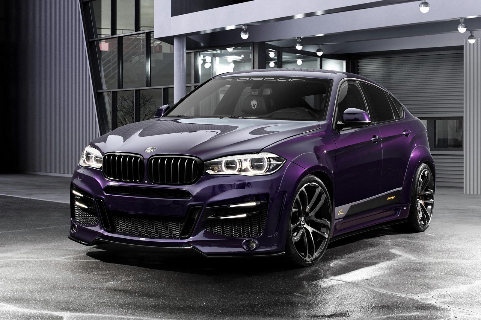 Plum Purple Lumma Design Bmw Clr X 6 R