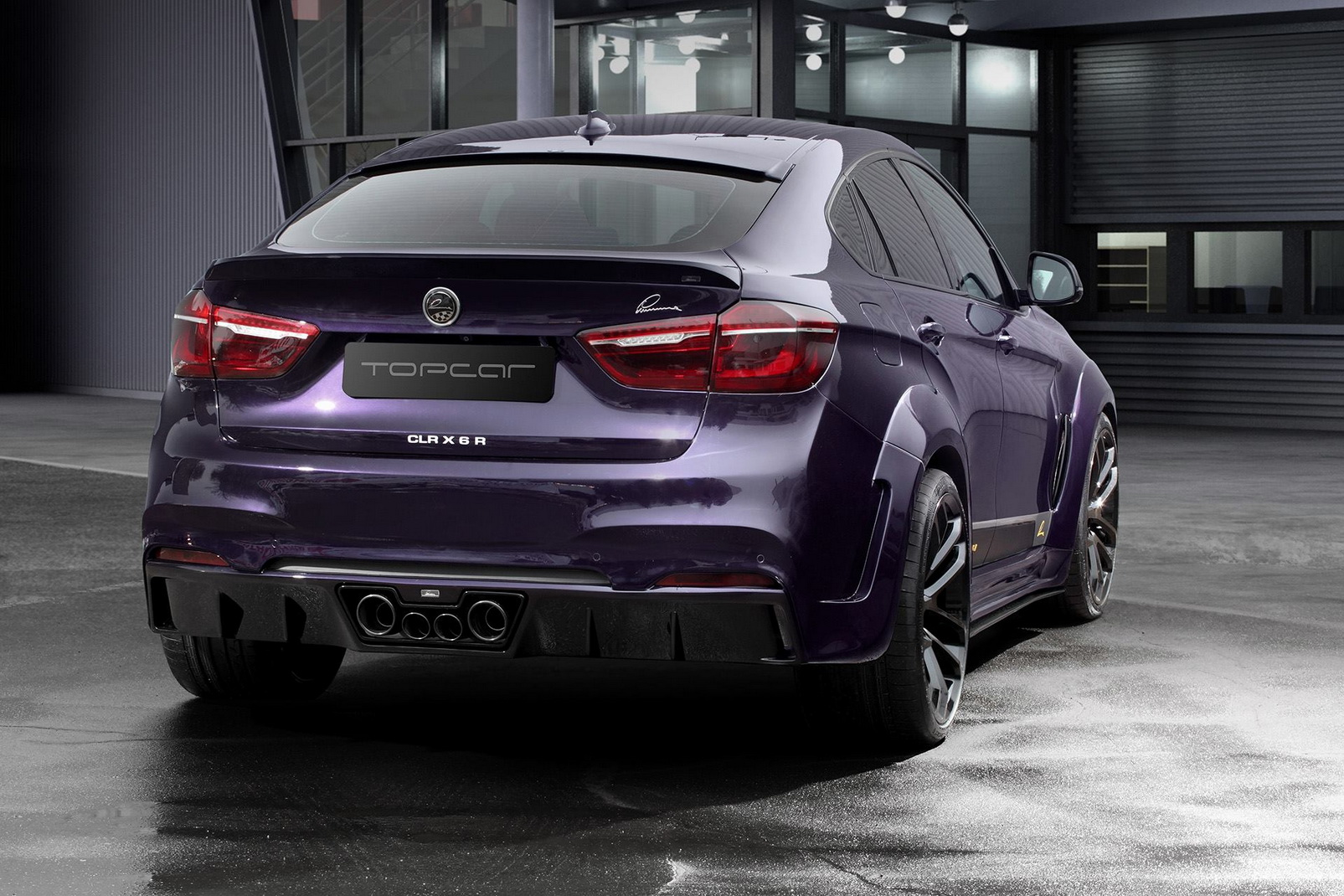 BMW M4 Coupe >> Plum Purple Lumma Design BMW CLR X 6 R
