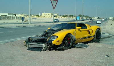 Ford GT Wrecked