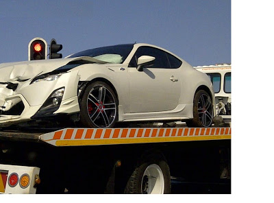 Toyota Gt86 Crashed In Durban