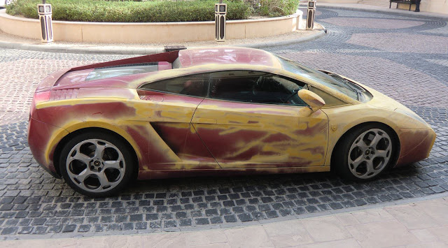 Lamborghini Gallardo Paint Job Via Dubai Desert