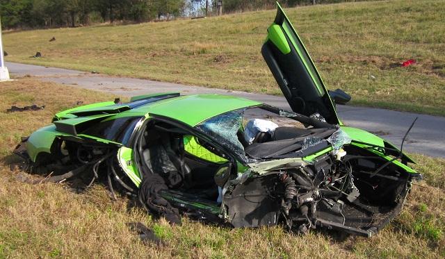Fatal Lamborghini Murcielago and Nissan GT-R Crash