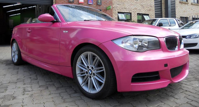 HOT Pink BMW 1-Series ...